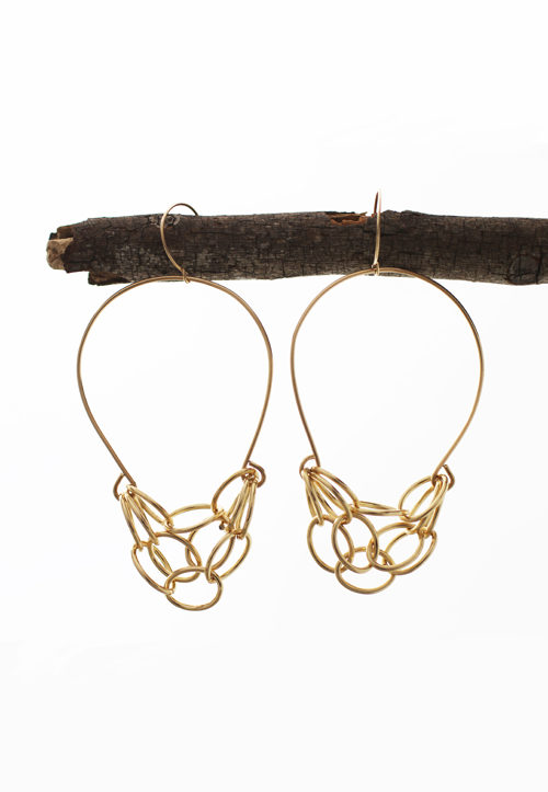 Densho Chandelier Earrings